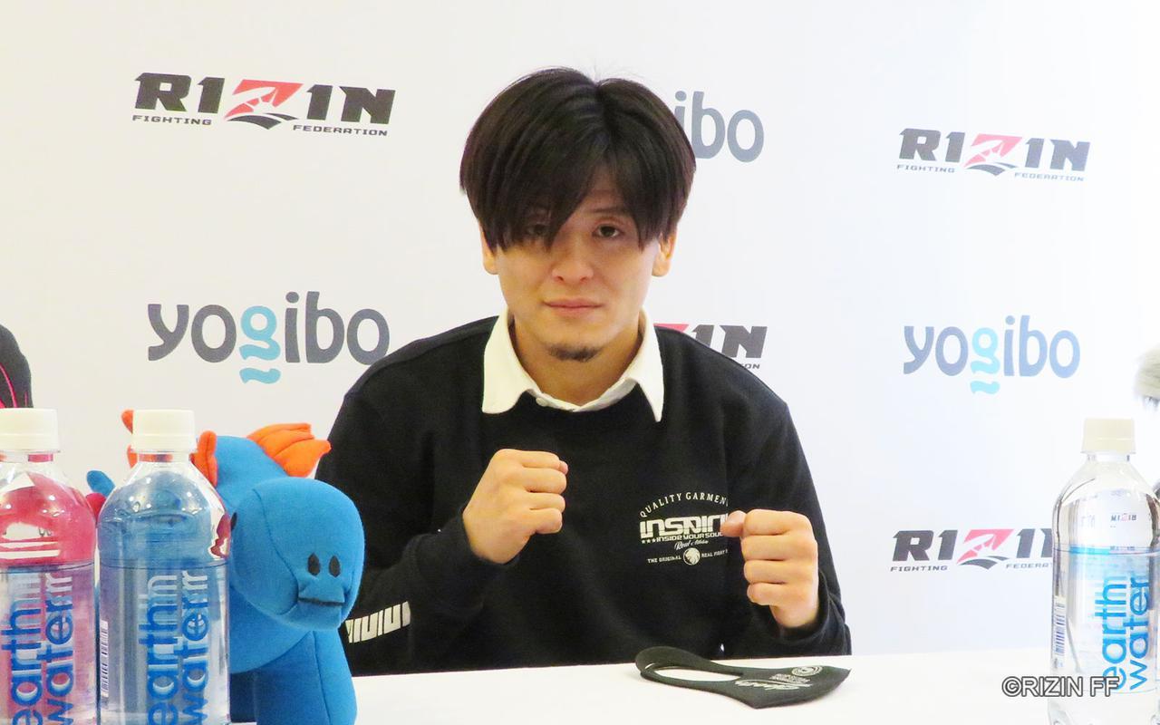 画像: 田丸匠「早い段階でKOか一本を取っちゃうと思います」
