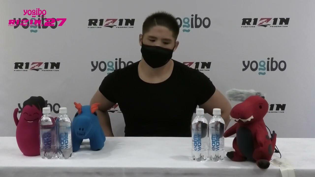 画像: Yogibo presents RIZIN 27 スダリオ剛 試合前インタビュー youtu.be