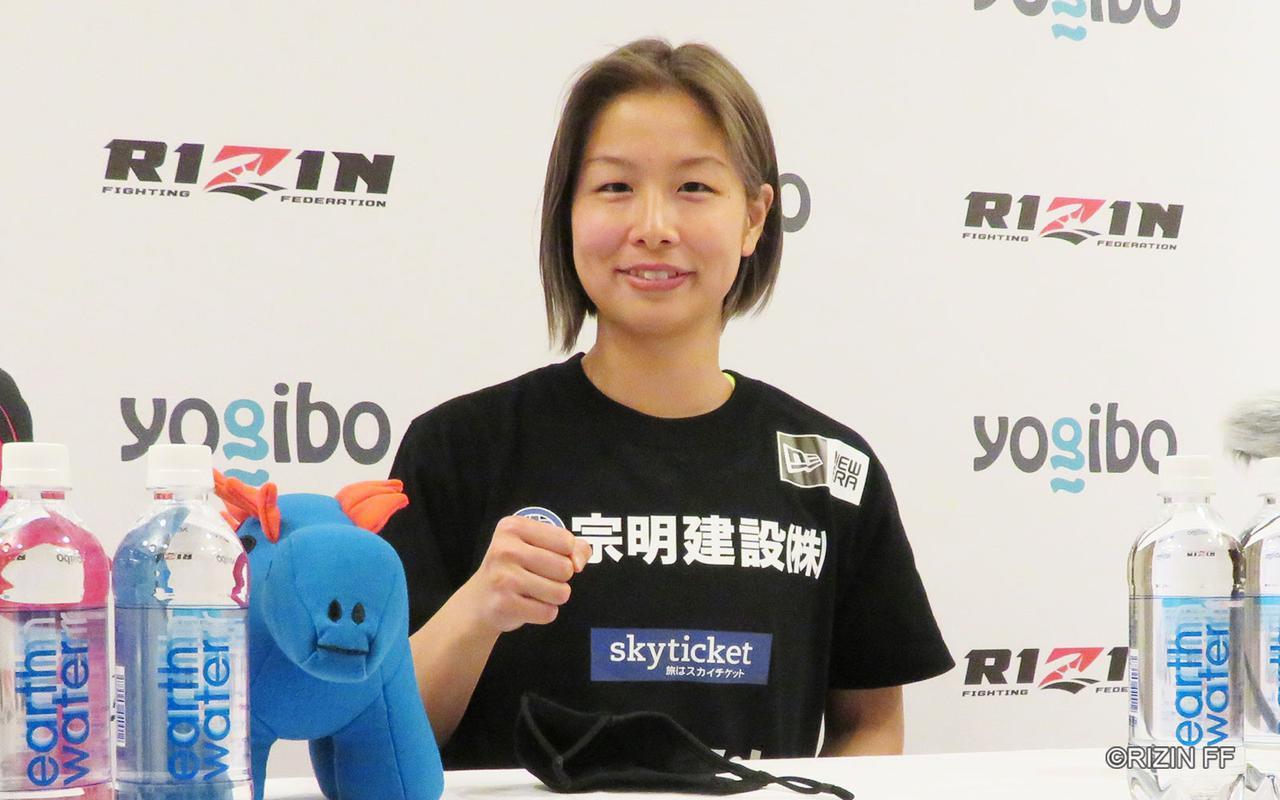 画像: 浅倉カンナ「1Rで極めに来ると思うがさせない、メインなので面白い試合を」