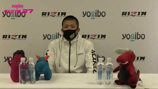 画像: Yogibo presents RIZIN 27 摩嶋一整 試合前インタビュー youtu.be