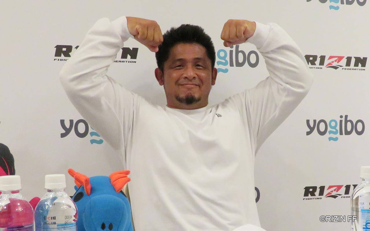 画像: 宮本和志「ヘビー級がぶつかるド迫力のある試合をしたい」