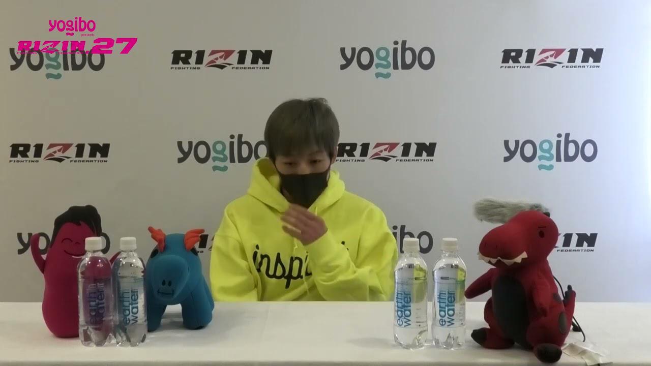 画像: Yogibo presents RIZIN 27 浜崎朱加 試合前インタビュー youtu.be