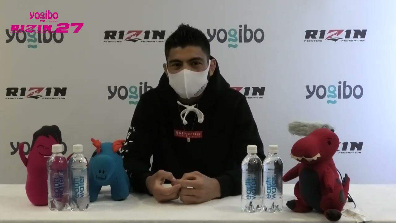 画像: Yogibo presents RIZIN 27 ホベルト・サトシ・ソウザ 試合前インタビュー youtu.be