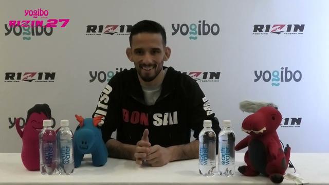 画像: Yogibo presents RIZIN 27 クレベル・コイケ 試合前インタビュー youtu.be