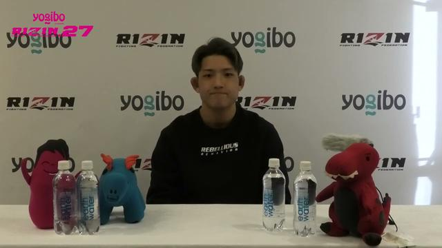 画像: Yogibo presents RIZIN 27 堀江圭功 試合前インタビュー youtu.be