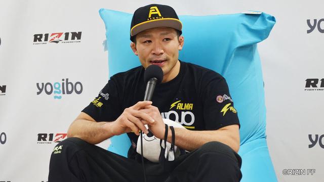 画像: Yogibo presents RIZIN 27 摩嶋一整 試合後インタビュー youtu.be