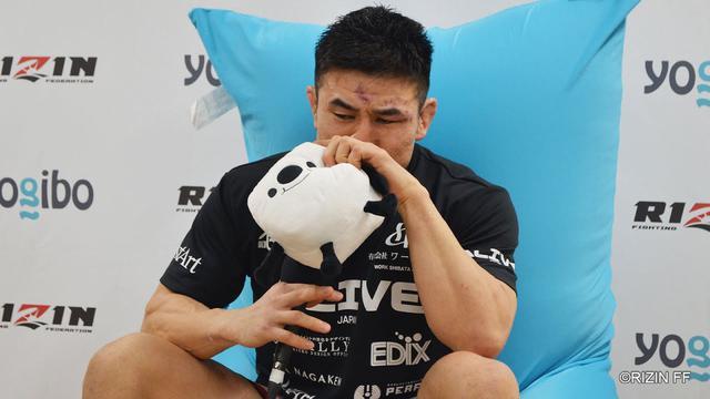 画像: Yogibo presents RIZIN 27 久米鷹介 試合後インタビュー youtu.be