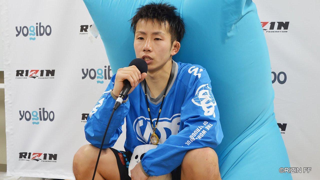 画像: Yogibo presents RIZIN 27 内藤凌太 試合後インタビュー youtu.be