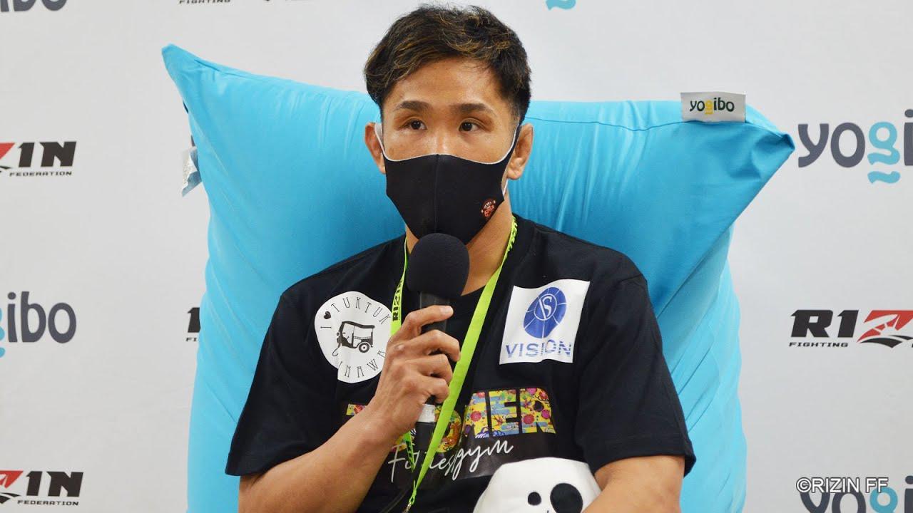 画像: Yogibo presents RIZIN 27 祖根寿麻 試合後インタビュー youtu.be