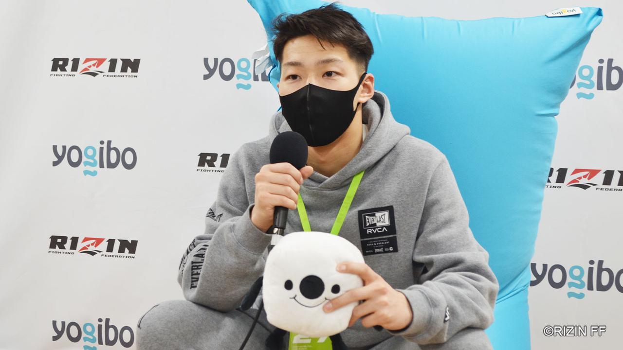 画像: 吉田「MMAに戻ってRIZINを目指したいと思います」