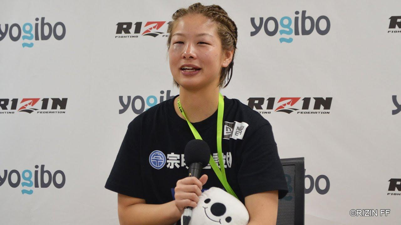 画像: Yogibo presents RIZIN 27 浅倉カンナ 試合後インタビュー youtu.be