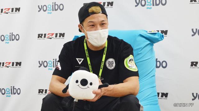 画像: Yogibo presents RIZIN 27 徳留一樹 試合後インタビュー youtu.be
