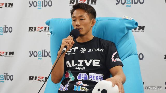 画像: Yogibo presents RIZIN 27 村元友太郎 試合後インタビュー youtu.be