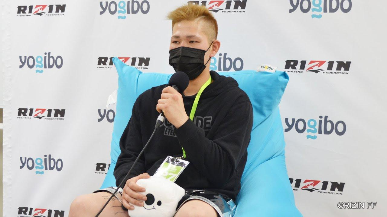 画像: Yogibo presents RIZIN 27 桜井力 試合後インタビュー youtu.be