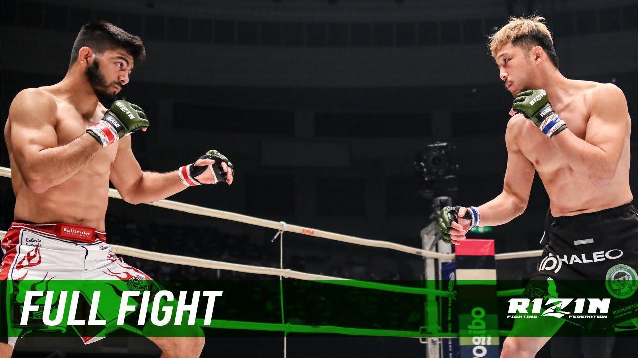 画像: Full Fight   ホベルト・サトシ・ソウザ vs. 徳留一樹 / Roberto Satoshi Souza vs. Kazuki Tokudome - RIZIN.27 youtu.be