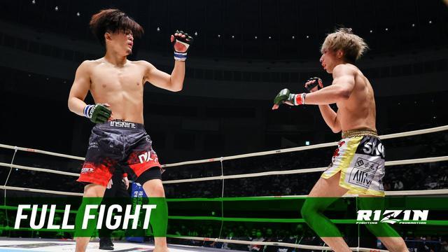 画像: Full Fight | 渡部修斗 vs. 田丸匠 / Shooto Watanabe vs. Takumi Tamaru - RIZIN.27 youtu.be