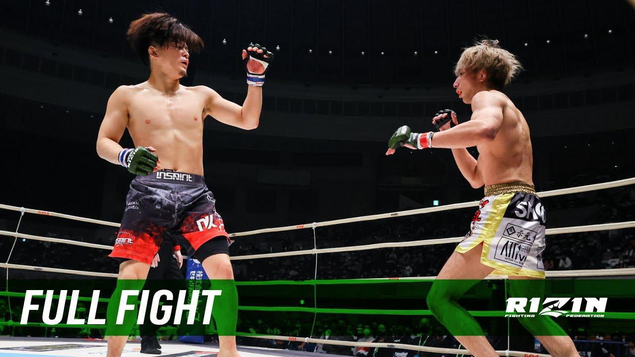 画像: Full Fight   渡部修斗 vs. 田丸匠 / Shooto Watanabe vs. Takumi Tamaru - RIZIN.27 youtu.be