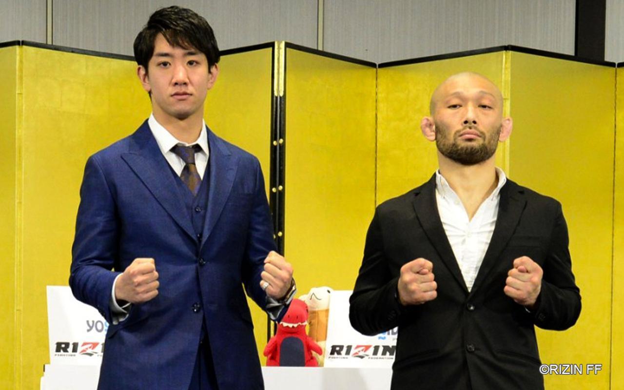 画像: 左:瀧澤謙太、右:今成正和