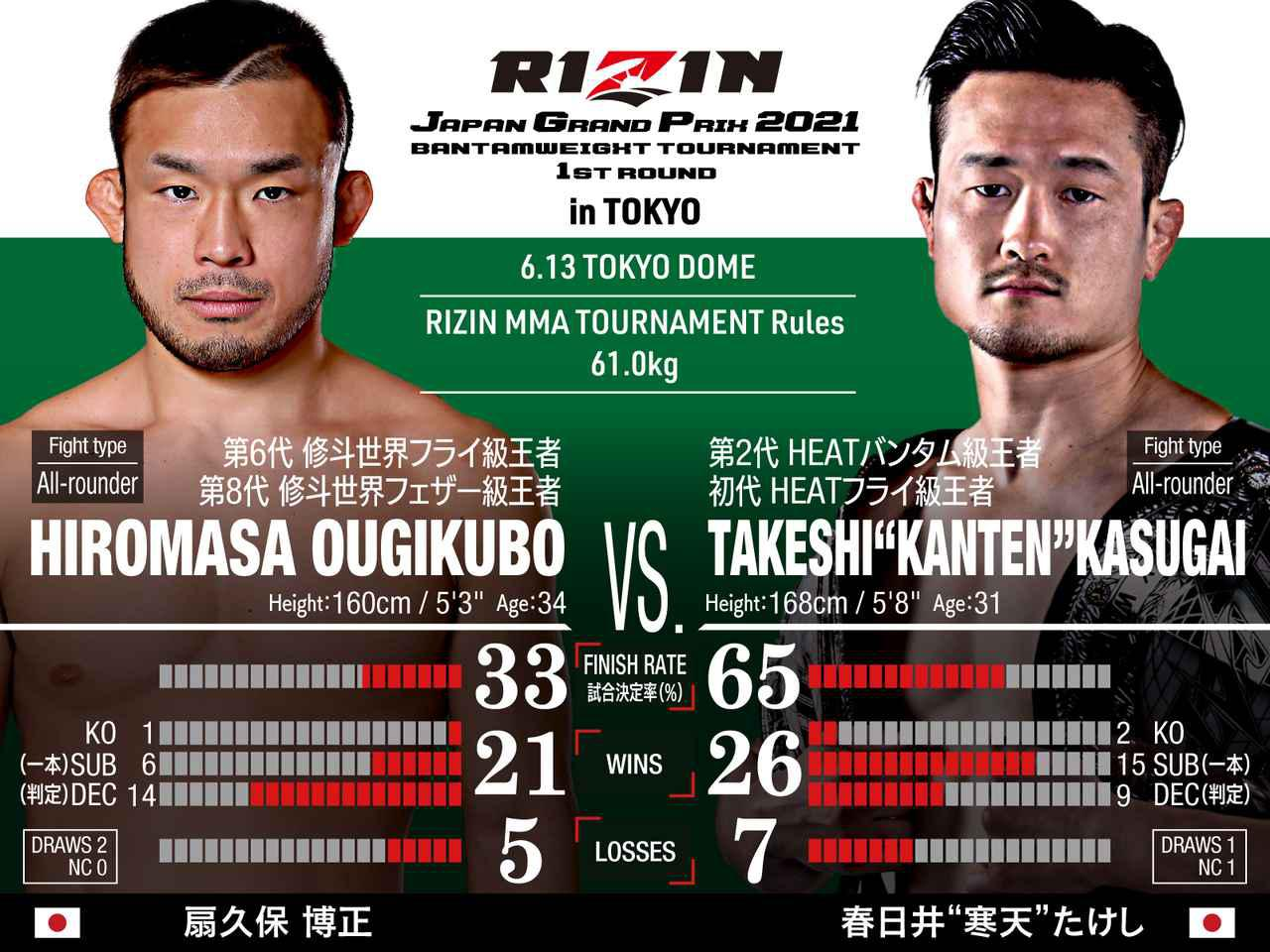 """画像: Hiromasa Ougikubo vs Takeshi""""Kanten""""Kasugai"""