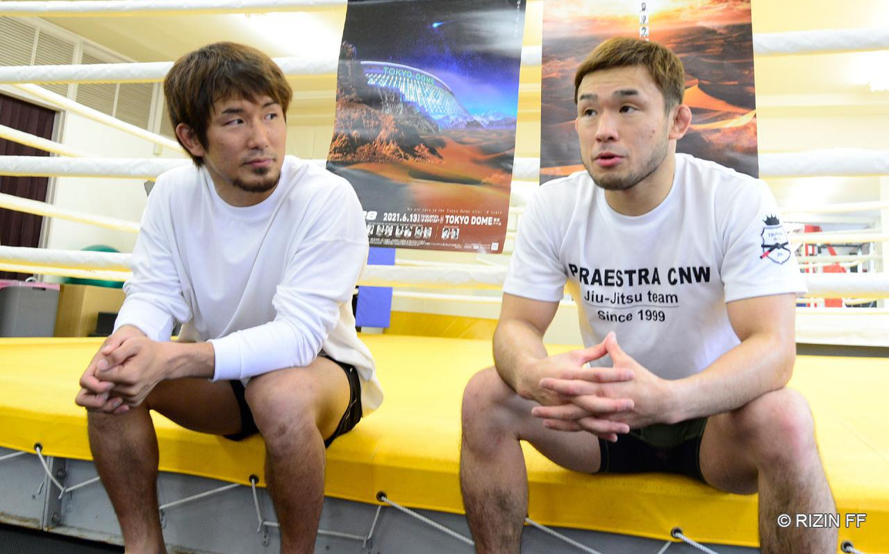 画像: 扇久保、岡田がトーナメント参戦で意識しているところとは?