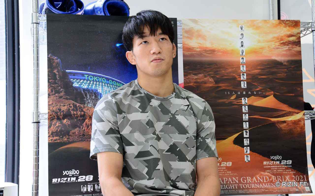 画像: 朝倉「確実に優勝しなきゃいけないと思います」