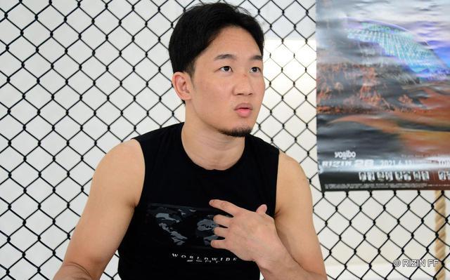 画像: 朝倉「クレベル選手の技から逃げる方法を教わってます」