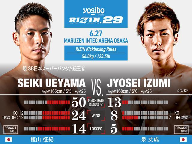 画像: Seiki Ueyama vs Jyosei Izumi