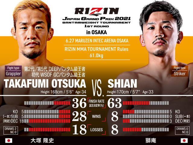 画像: Takafumi Otsuka vs Shian