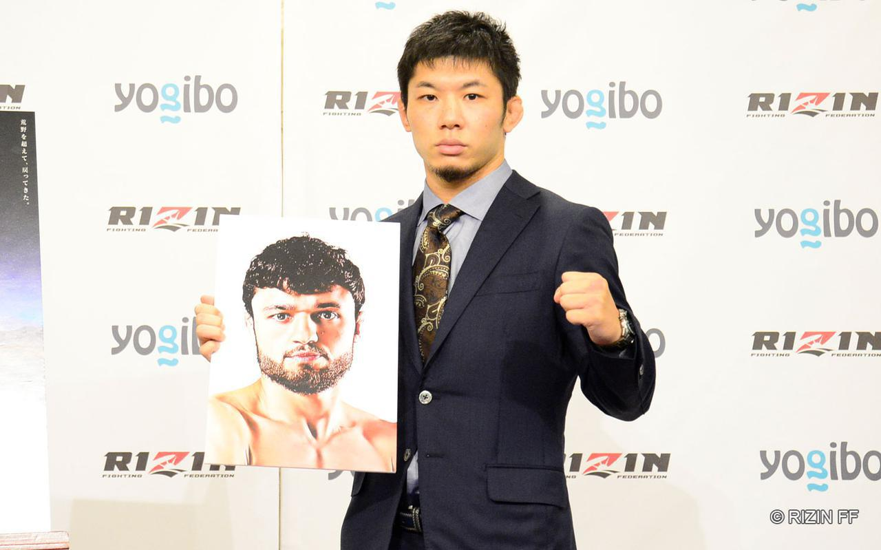 画像1: 斎藤裕 vs. ヴガール・ケラモフ