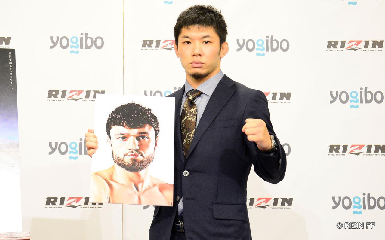 画像2: 斎藤裕 vs. ヴガール・ケラモフ