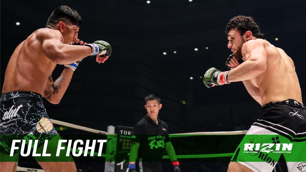 画像: Full Fight   ヴガール・ケラモフ vs. カイル・アグォン / Vugar Karamov vs. Kyle Aguon - RIZIN.21 youtu.be