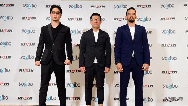 画像: 朝倉未来vs.クレベルが東京ドームで対戦決定!Yogibo presents RIZIN.28 追加対戦カード発表記者会見 - RIZIN FIGHTING FEDERATION オフィシャルサイト