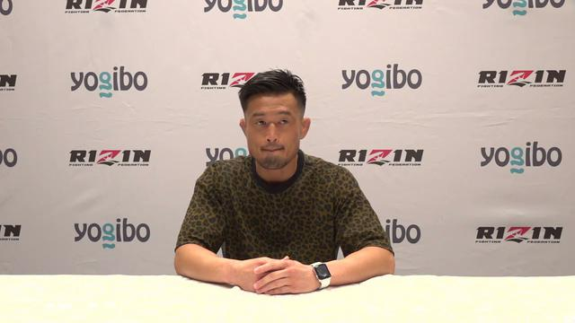 """画像: Yogibo presents RIZIN 28 春日井""""寒天""""たけし  試合前インタビュー youtu.be"""