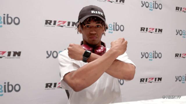 """画像: Yogibo presents RIZIN 28 """"ブラックパンサー""""ベイノア 試合前インタビュー youtu.be"""