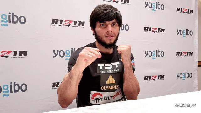 画像: Yogibo presents RIZIN 28 トフィック・ムサエフ 試合前インタビュー youtu.be