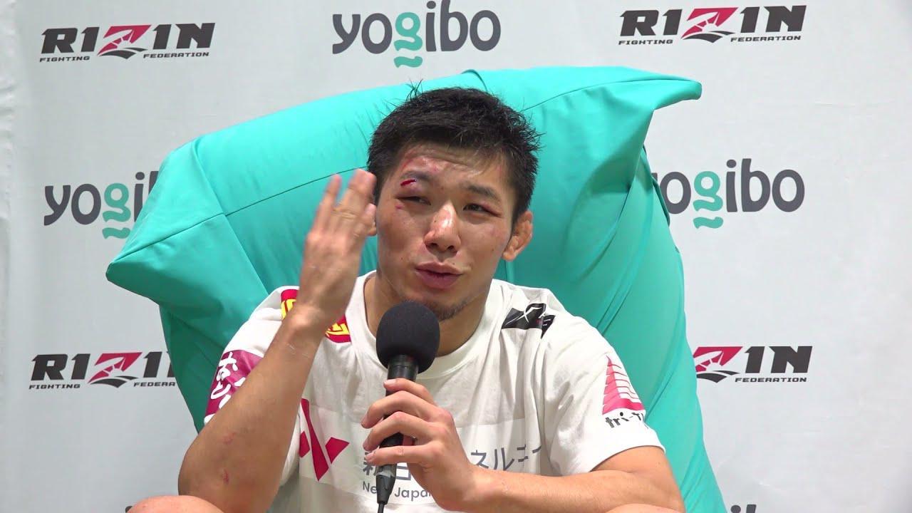 画像: Yogibo presents RIZIN.28 斎藤裕  試合後インタビュー youtu.be