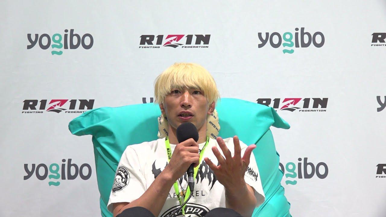 画像: Yogibo presents RIZIN.28 渡部修斗  試合後インタビュー youtu.be