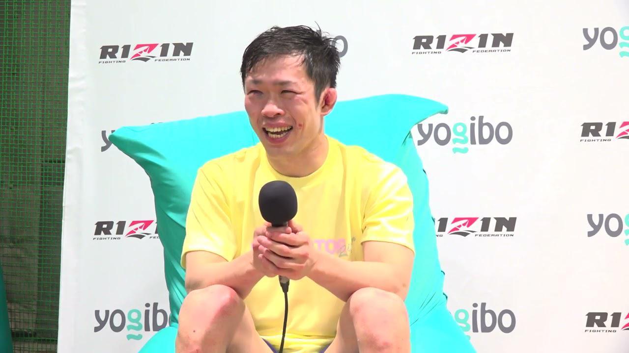画像: Yogibo presents RIZIN.28 弥益ドミネーター聡志 試合後インタビュー youtu.be