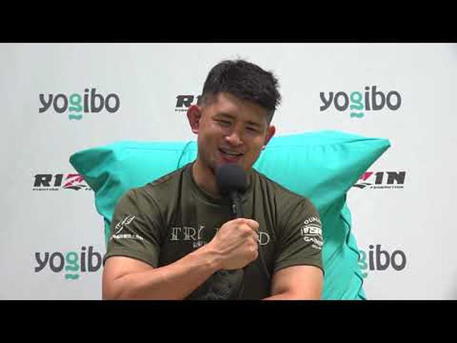 画像: Yogibo presents RIZIN.28 HIROYA 試合後インタビュー youtu.be