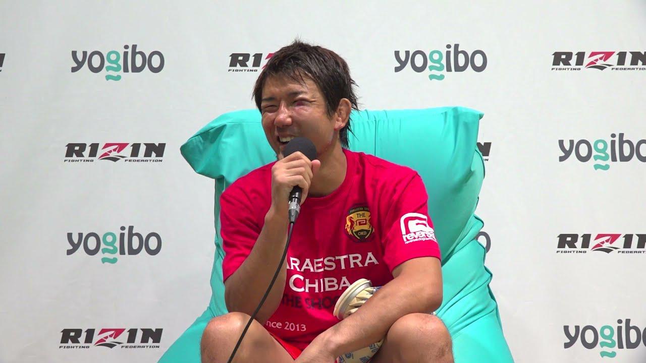 画像: Yogibo presents RIZIN.28 岡田遼 試合後インタビュー youtu.be