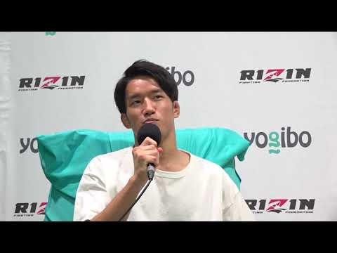 画像: Yogibo presents RIZIN.28 朝倉海 試合後インタビュー youtu.be
