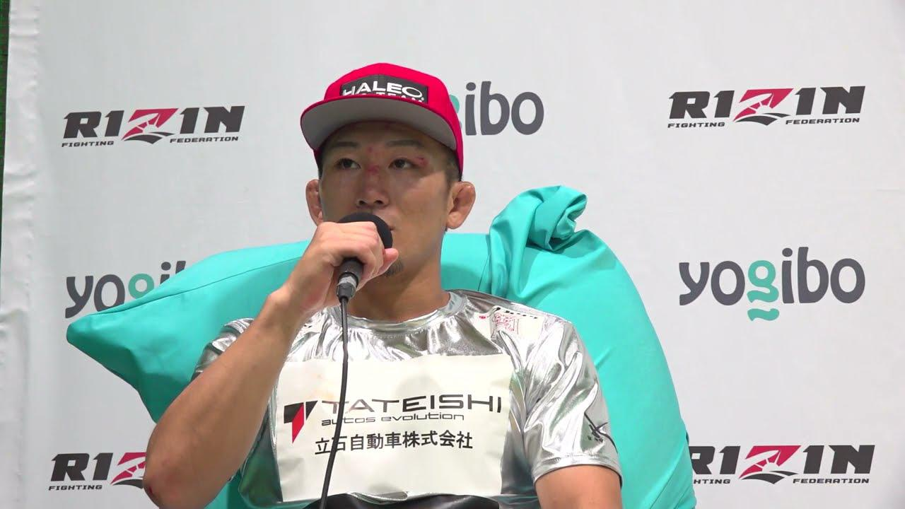 画像: Yogibo presents RIZIN.28 元谷友貴  試合後インタビュー youtu.be