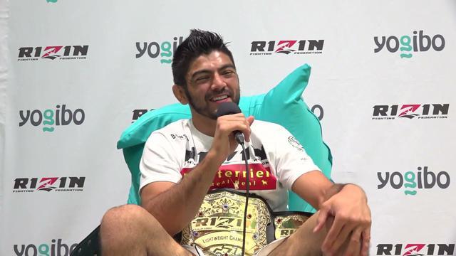 画像: Yogibo presents RIZIN.28 ホベルト・サトシ・ソウザ 試合後インタビュー youtu.be