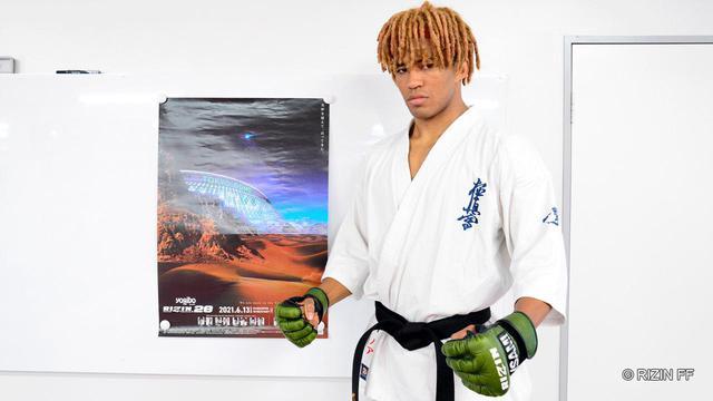 画像: ベイノア「『一撃パンサーキック』を用意」Yogibo presents RIZIN.28 公開練習 - RIZIN FIGHTING FEDERATION オフィシャルサイト