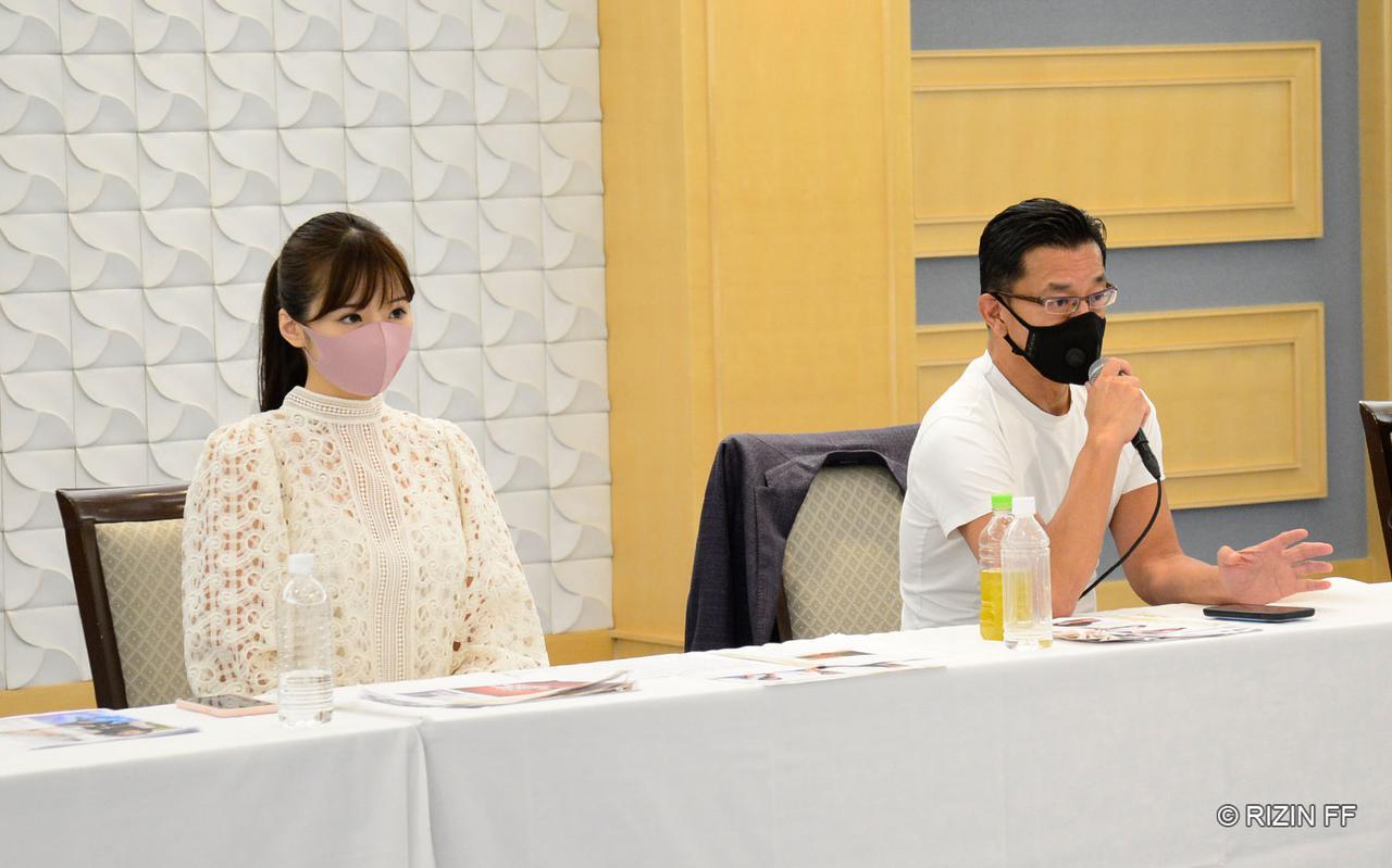 画像1: 榊原信行CEO、元RIZINガール・川村那月氏が審査員として参加!