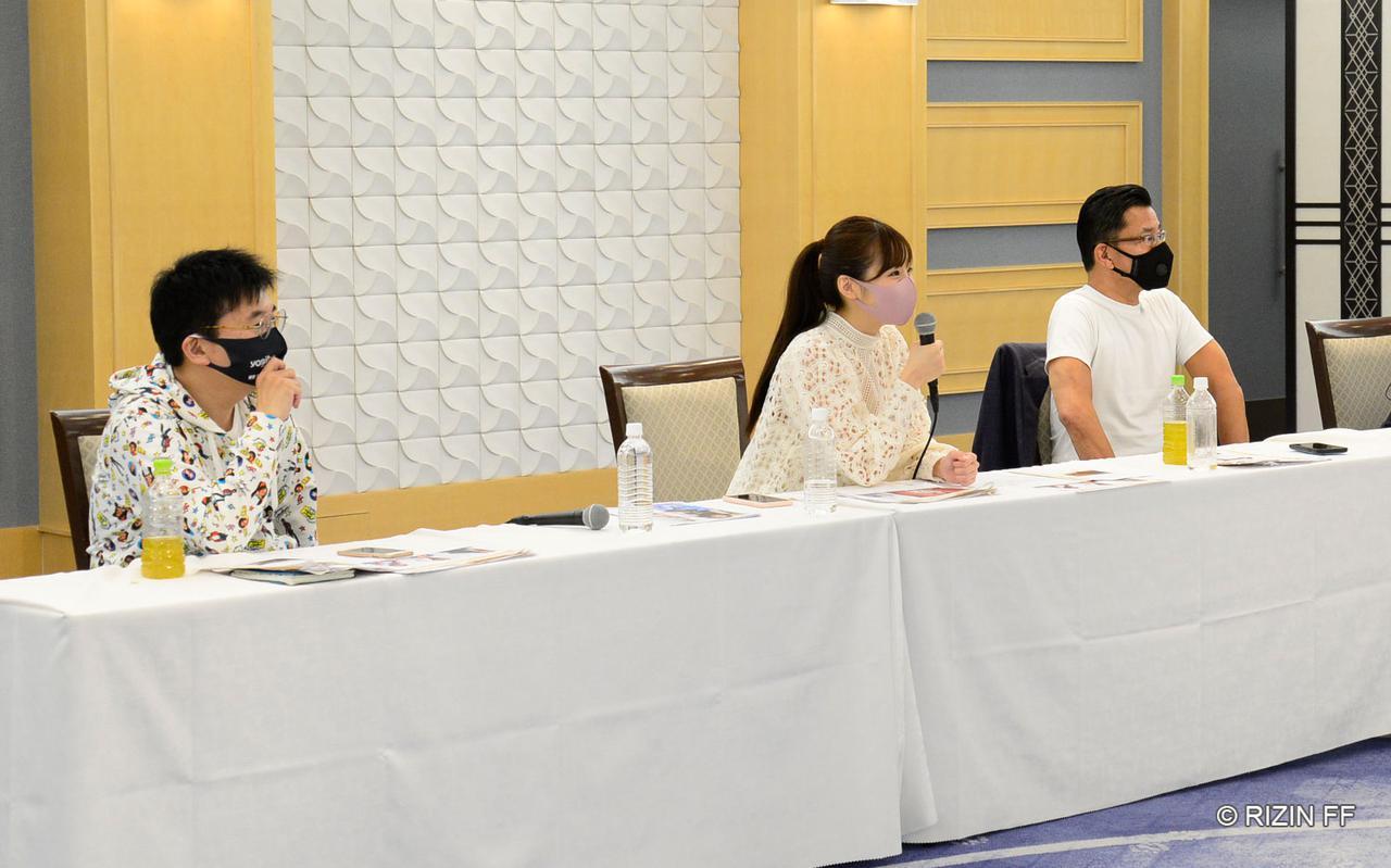 画像2: 榊原信行CEO、元RIZINガール・川村那月氏が審査員として参加!