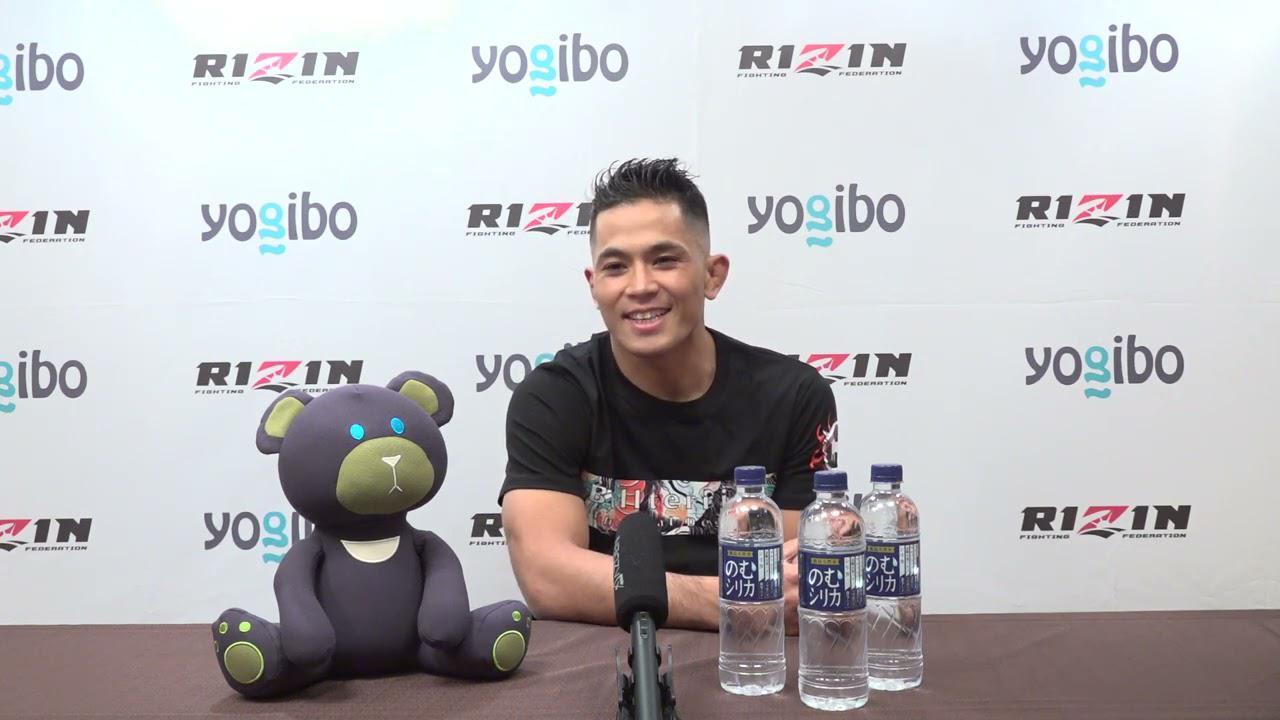 """画像: Yogibo presents RIZIN.29 アラン""""ヒロ""""ヤマニハ 試合前インタビュー youtu.be"""