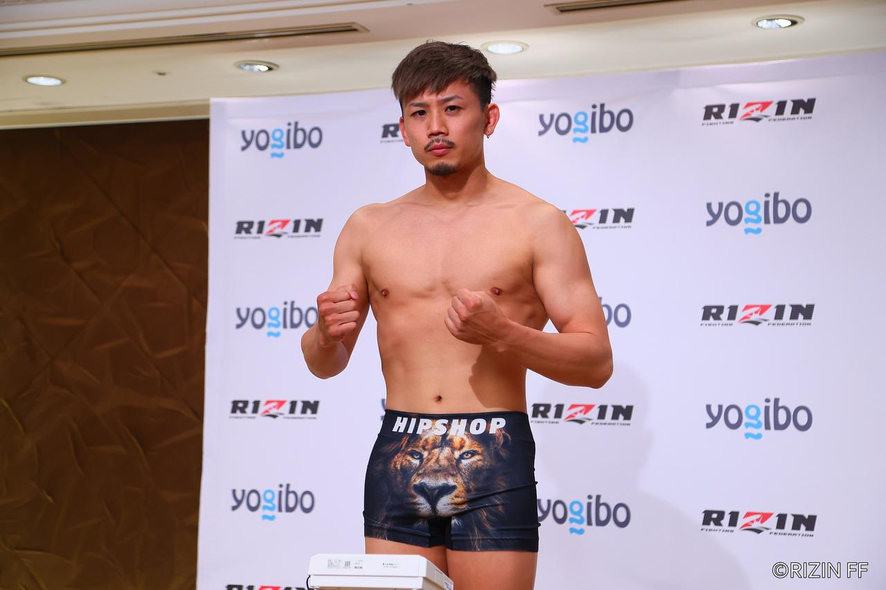 画像2: Fight #11 - 61.0kg : Takafumi Otsuka (61.00kg) vs Shian (60.85kg)