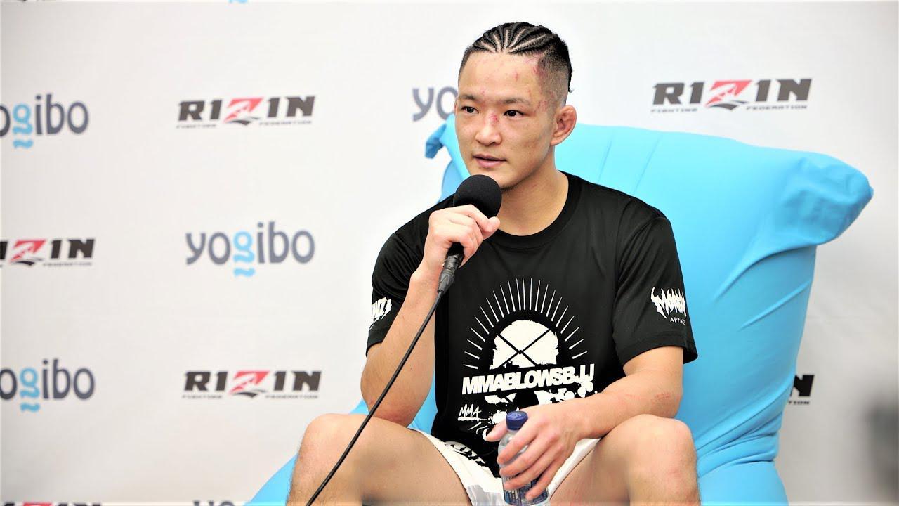 画像: Yogibo presents RIZIN.29 青井人 試合後インタビュー youtu.be