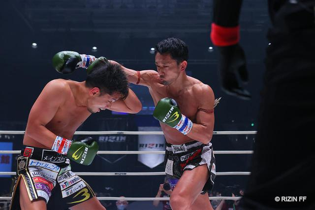 画像1: 一回戦を1R KOした白鳥と、ノーコンテストから審議の上、皇治が決勝へ